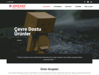 anolsan.com.tr screenshot