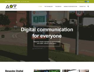 anomalyhi-vis.co.uk screenshot