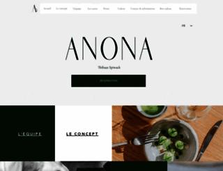 anona.fr screenshot