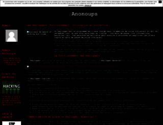 anonoups.unblog.fr screenshot