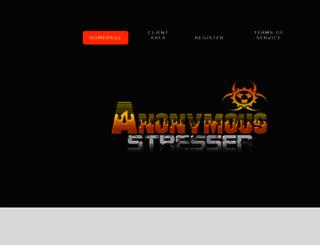 anonymous-stresser.net screenshot