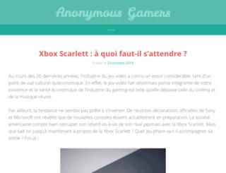 anonymousgamers.fr screenshot