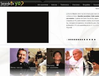 anosacerdotal.info screenshot