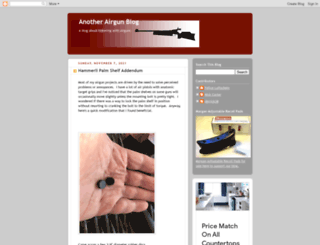 anotherairgunblog.blogspot.it screenshot