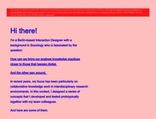 anoukhoffmeister.com screenshot