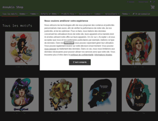 anoukis-shop.fr screenshot