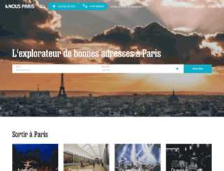anousparis.fr screenshot