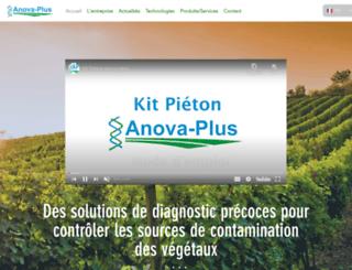 anova-plus.com screenshot