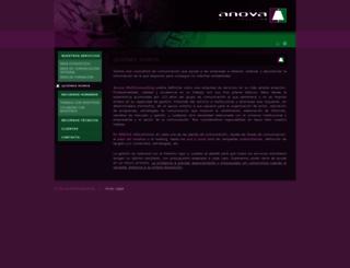 anovamulticonsulting.es screenshot