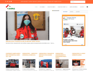 anpasnazionale.org screenshot