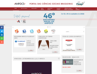 anpocs.org screenshot