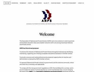 anps-bi.org screenshot