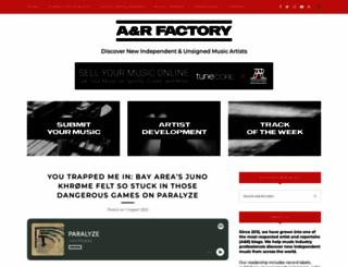 anrfactory.com screenshot