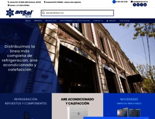 ansal.com.ar screenshot