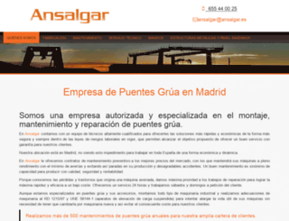 ansalgar.es screenshot
