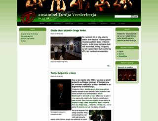 ansambel-tonija-verderberja.com screenshot