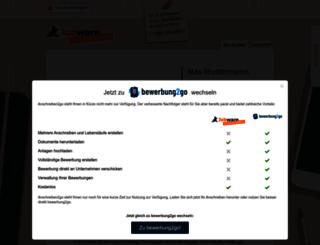 anschreiben2go.de screenshot