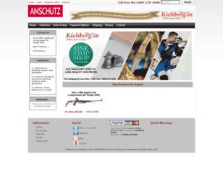 anschutz.in screenshot