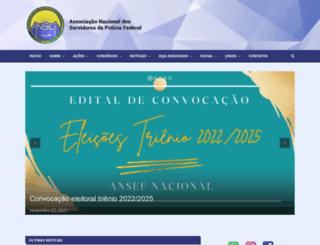 ansef.org.br screenshot