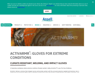 ansellconstruction.com screenshot