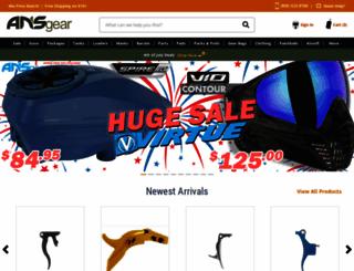 ansgear.com screenshot