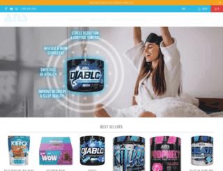 ansperformance.com screenshot