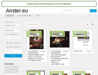 anster.eu screenshot