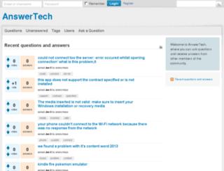 answer-tech.net screenshot