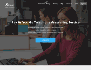 answer.co.uk screenshot