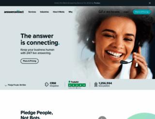 answerconnect.com screenshot