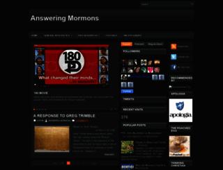 answeringmormons.blogspot.com screenshot