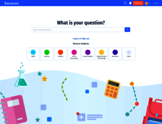 answers.com screenshot