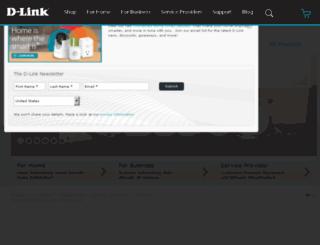 answers.dlink.com screenshot