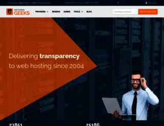 answers.webhostinggeeks.com screenshot