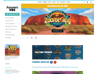 answersvbs.com screenshot