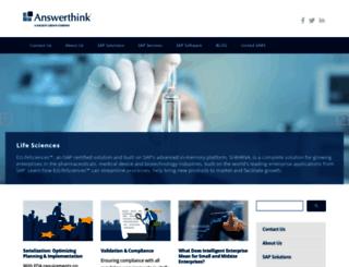 answerthink.com screenshot