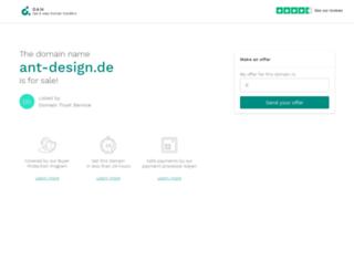 ant-design.de screenshot