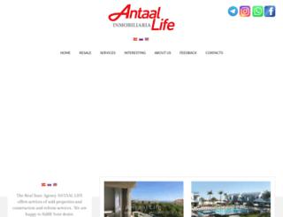 antaal-life.com screenshot