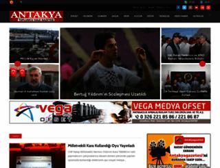 antakyagazetesi.com screenshot