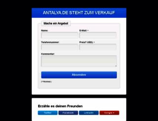 antalya.de screenshot