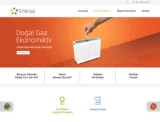 antalya.enerya.com.tr screenshot
