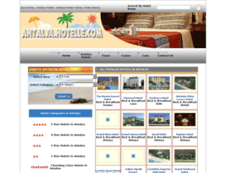 antalya.hotelle.com screenshot