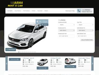 antalyaarmarentacar.com screenshot