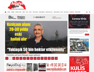 antalyabugun.com screenshot