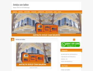 antalyagoldcambalkon.com screenshot