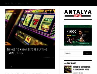 antalyaliving.com screenshot