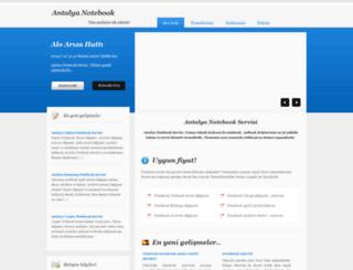 antalyanotebook.com screenshot