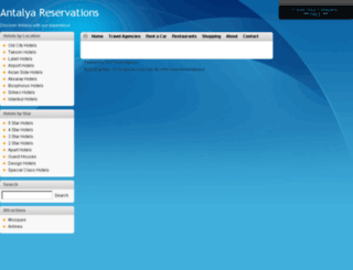 antalyareservations.com screenshot