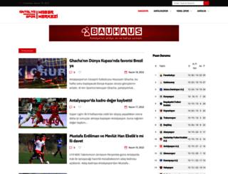 antalyasporum.com screenshot