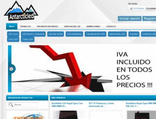 antarcticled.com screenshot